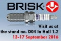 Firma Brisk na veletrhu Automechanika Frankfurt