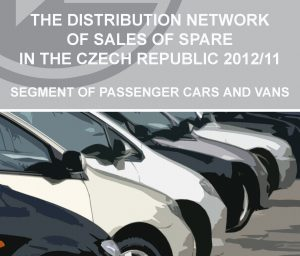 Report: The distribution network of sales of spare parts in the Czech Republic 2012/2011 – segment of passenger and vans