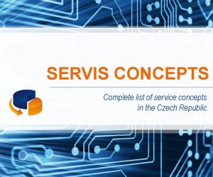 SERVIS CONCEPTS – Complete list of service concepts in the Czech Republic