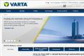 Nové webové stránky VARTA