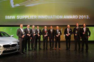 """BMW ocenilo společnost Bosch za vynikající spolupráci cenou """"BMW Supplier Innovation Award"""""""