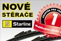 Inovace plochých stěračů STARLINE