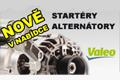 Nově u Auto Kelly: Startéry a alternátory Valeo