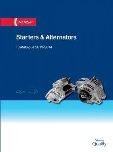 Nové katalogy startérů a alternátorů DENSO