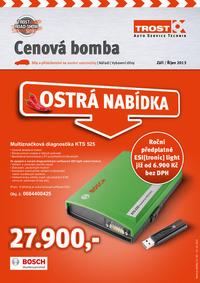 Trost: Cenová bomba září/říjen 2013