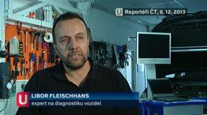 Vytloukání filtrů pevných částic v pořadu Reportéři ČT (video)