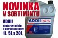 Novinka v sortimentu AD Partner – ADOil oleje s novými objemy