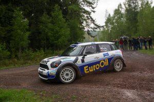 Standox podporuje Václava Pecha v Mezinárodním mistrovství ČR v rallye 2014
