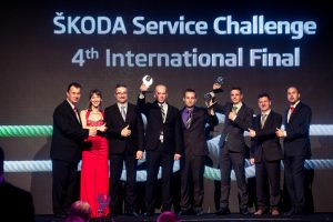 INTERACTION partnerem ŠKODA Service Challenge