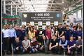 První milion pneumatik značky Pirelli v Rusku