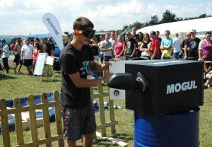 MOGUL bavil návštěvníky Tuning Motor Party ve Vyškově