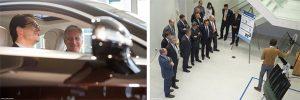 Slavnostní otevření AGC Technovation Center za přítomnosti belgického krále Filipa