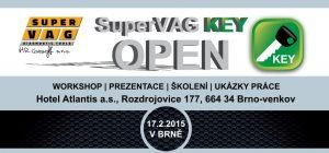 Pozvánka na SuperVAG KEY OPEN