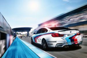 Bridgestone bude v roce 2015 dodávat pneumatiky pro bezpečnostní vozy BMW v MotoGP™