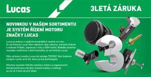 ALLSTAR: Novinka v sortimentu – systém řízení motoru LUCAS