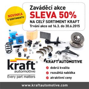 ALLSTAR: Novinka v sortimentu - autodíly Kraft Automotive