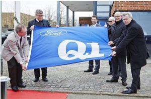 Slavnostní prezentace firmy NISSENS k příležitosti získání certifikátu Q1 firmy Ford