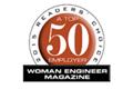 TRW mezi TOP 50 firem podle Woman Engineer Magazine