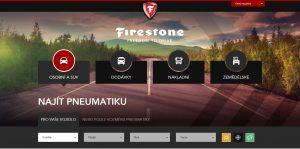 Firestone zintenzivňuje svou ofenzivu v Evropě novými webovými stránkami
