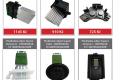 Elán Car: Předřadné odpory ventilátorů