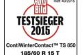 """Autobild: Pneumatika ContiWinterContact TS 850 je """"vzorová"""" a nechala za sebou 49 konkurentů"""