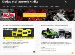 Elán Car – nové webové stránky