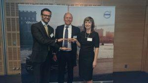 TRW aftermarket obdržela ocenění Volvo cars quality excellence award 2015