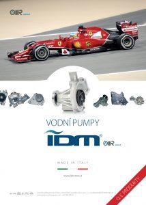 Vodní pumpy IDM