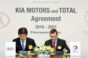 Kia a Total obnovily partnerství