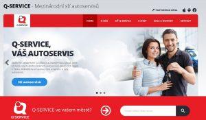 Nové webové stránky Q-SERVICE