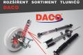 Rozšířený sortiment tlumičů DACO