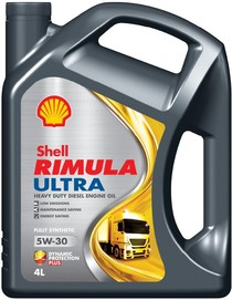 Shell uvádí na trh řadu motorových  olejů Shell Rimula s technologií  Dynamic Protection Plus