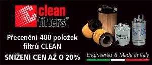 Genei: Přecenění filtrů Clean