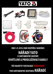 Rozšířená nabídka YATO