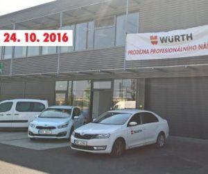 Nová prodejna Würth v Plzni
