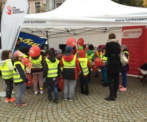 Úspěšná dopravně-bezpečnostní akce projektu Goodyear Bezpečná školka