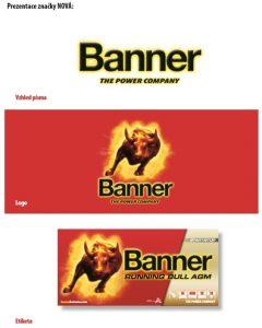 Nová prezentace značky Banner