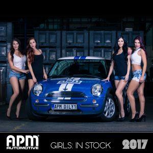 Kalendář APM Automotive 2017 - Girls: In Stock