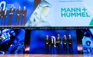 MANN + HUMMEL byl koncernem Fiat Chrysler Automobiles vyhlášen jako vítěz Supplier of the Year 2016