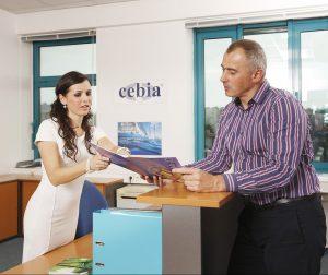 Stěhování společnosti Cebia
