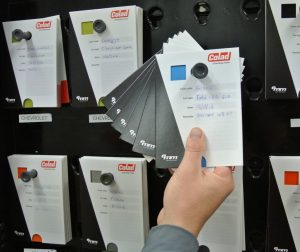 Ochranné obálky na testkarty Colad