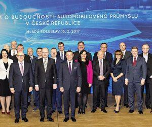 Autoprůmysl a vláda ČR zahájil strategickou spolupráci