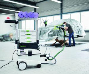 Společnosti 3M a Festool představují komplexní řešení pro opravy automobilů
