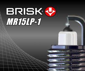 Nová zapalovací svíčka Brisk MR15LP-1