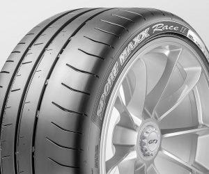 Dunlop Sport Maxx Race 2 navržená pro Porsche 911 GT3