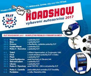 ELIT ROADSHOW vybavení autoservisů 2017