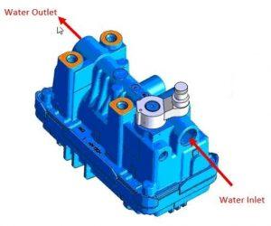 Jak pracuje turbodmychadlo s elektronickým ventilem chlazeným vodou