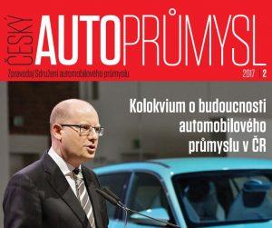 AutoSAP vydal Zpravodaj Český autoprůmysl 2/2017