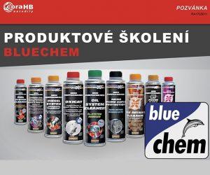 Pruduktové školení chemie Bluechem u firmy coraHB