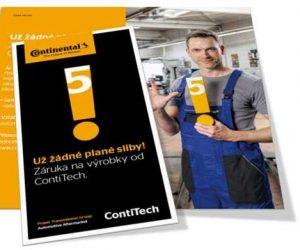Novinka u STAHLGRUBERu - prodloužená záruka ContiTech 5 let